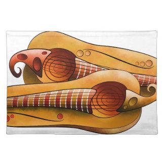 Efheros V1 - squashguitar Tischset