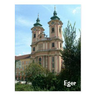 Eger Postkarte