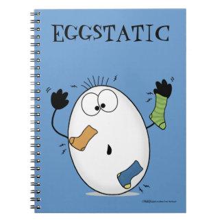 Eggstatic-Ekstatisches Ei Notizblock