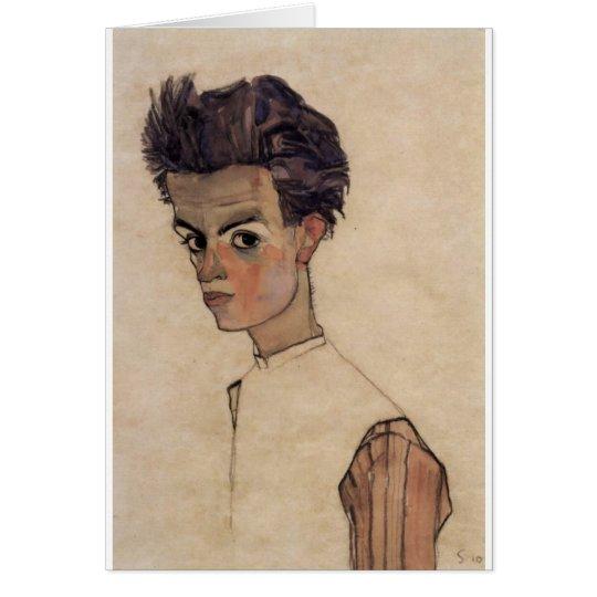 Egon Schiele Dandy Karte
