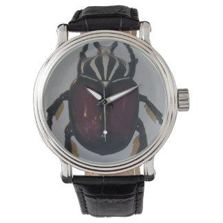 Egyptian_Scarab_Beetle, _Wristwatch. Armbanduhr