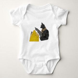 EgyptianCatSunPyramid021411 Baby Strampler