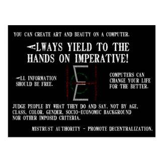 EHC Mariomatt Hacker ethisches Mousepad ist es von Postkarte
