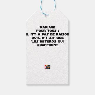 Ehe für alle: es gibt keinen Grund, der er Geschenkanhänger