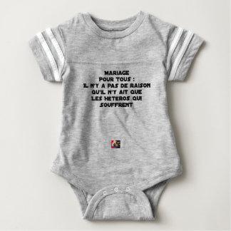 Ehe für alle gibt es keinen Grund, der er dort Baby Strampler