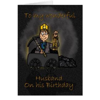 Ehemann-Geburtstags-Karte - Karte