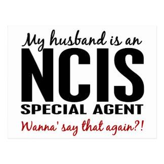 Ehemann ist ein NCIS Agent Postkarte