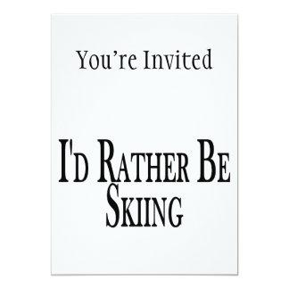 Eher fährt Ski Karte