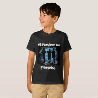 Eher fischt KinderShirt T-Shirt