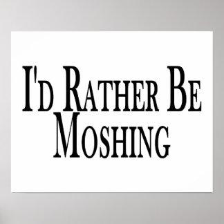 Eher Moshing Poster