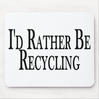 Eher recycelt mousepad