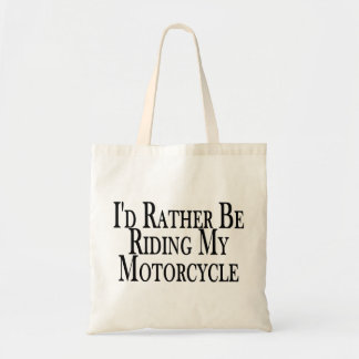 Eher reitet mein Motorrad Tragetasche