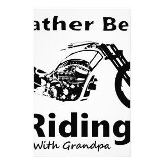 Eher reitet w-Großvater Briefpapier
