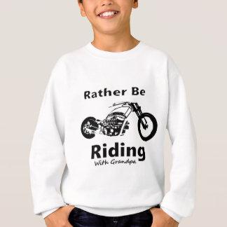 Eher reitet w-Großvater Sweatshirt