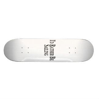 Eher segelt 18,4 cm mini skateboard deck