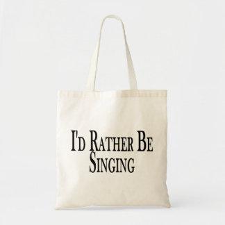 Eher singt tragetasche