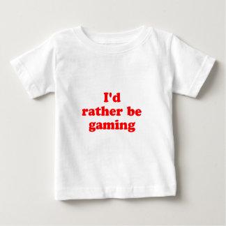 eher Spiel Baby T-shirt