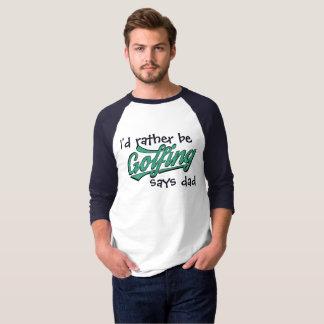 Eher spielt sagt der Raglan-T - Shirt der