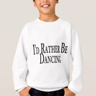 Eher tanzt sweatshirt