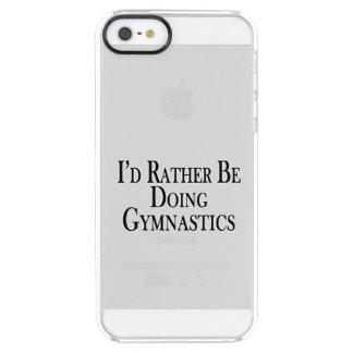 Eher tut Gymnastik Durchsichtige iPhone SE/5/5s Hülle