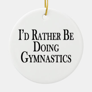 Eher tut Gymnastik Keramik Ornament