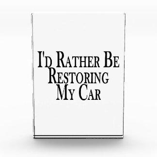 Eher Wiederherstellungs-Auto Acryl Auszeichnung