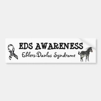 Ehlers-Danlos Syndrom Bewusstseins-Autoaufkleber Autoaufkleber