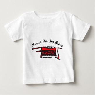 Ehre für das tapfere baby t-shirt