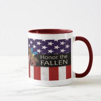 Ehren Sie das gefallene Militär Tasse