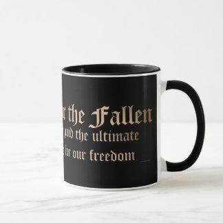 Ehren Sie gefallen - Wappen Tasse