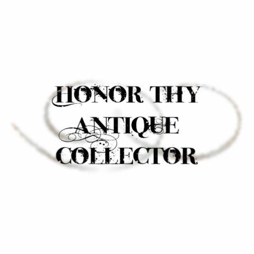 Ehren Sie Thy antiken Kollektor Photo Statuen