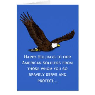 Ehren unserer Soldaten Grußkarte