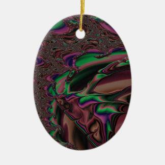 ehrerbietiges Großherzigkeits-Fraktal Keramik Ornament
