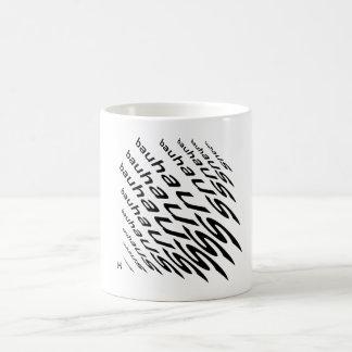 Ehrerbietung zu Bauhaus Coffe Tasse