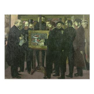 Ehrerbietung zu Cezanne, 1900 Postkarte