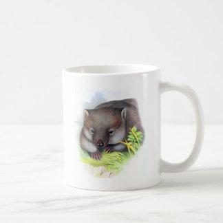Ehrfürchtig niedliches australisches Tierwombat Tasse