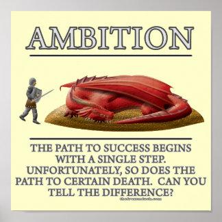 Ehrgeiz-Fantasie(De) Motivator Plakat