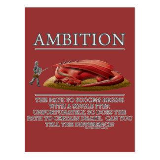 Ehrgeiz-Fantasie(De) Motivator Postkarte