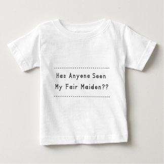 Ehrlich Mädchen Baby T-shirt