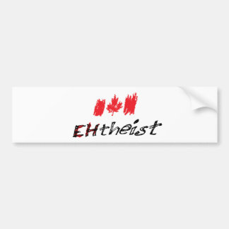 EHTheist (Atheist) Autoaufkleber