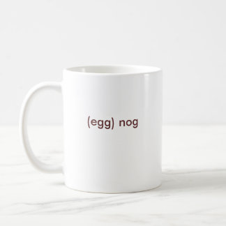 (Ei) Holzklotz Kaffeetasse