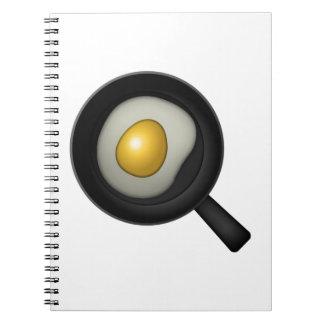 Ei kochen - Emoji Spiral Notizblock