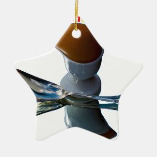 Ei-schrullige Hauptentwürfe Keramik Stern-Ornament