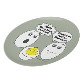 Ei-Spaß-Cartoon Melaminteller