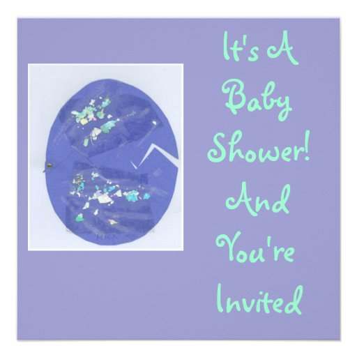 Ei-Traordinary - eine Babyparty-Einladung