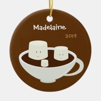 Eibische Weihnachtsder verzierung in der heißen Keramik Ornament