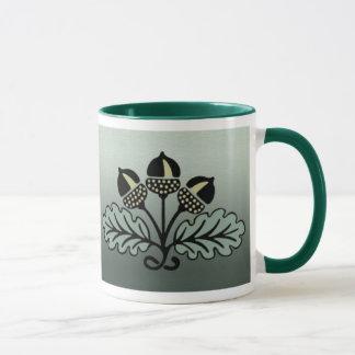 Eichel-Blumenstrauß-Tasse Tasse