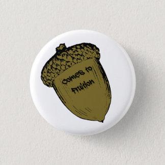 Eichel Runder Button 2,5 Cm