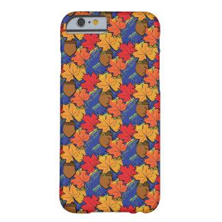 Eicheln und Blätter I Barely There iPhone 6 Hülle