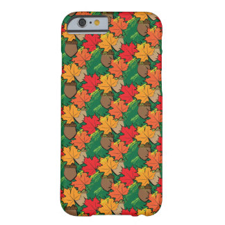 Eicheln und Blätter III Barely There iPhone 6 Hülle